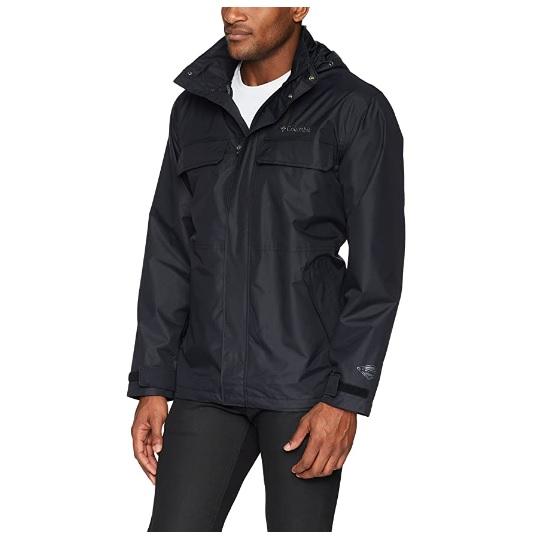 Columbia哥伦比亚男士防雨保暖夹克