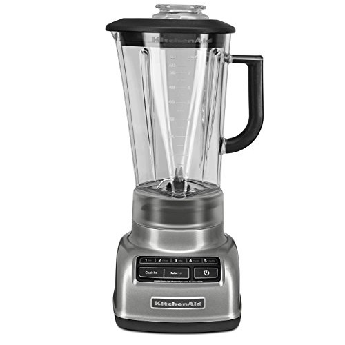 KitchenAid KSB1575QG Diamond 5 Speed Blender, 60 oz, Liquid Graphite $85.83
