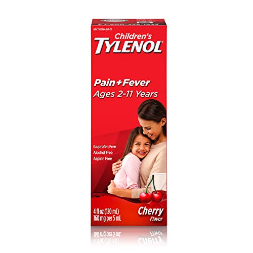 Children's Tylenol Oral Suspension Medicine with Acetaminophen, Cherry, 4 fl. oz $4.00
