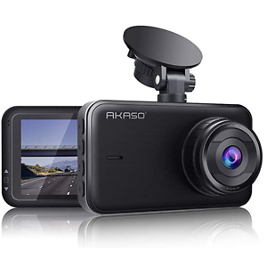 AKASO C320 Dash Cam 1080P FHD 3 Inches IPS Screen, DVR Car Dash Camera Recorder