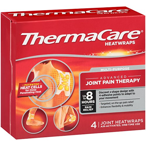 ThermaCare Advanced Multi-Purpose Joint Pain Therapy (4 Count) Heatwraps, Up to 8 Hours of Pain Relief, Temporary Relief of Joint Pains, Only5.43, free shipping after using SS