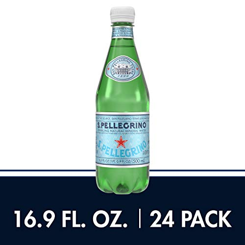 S.Pellegrino Sparkling Natural Mineral Water, 16.9 fl oz. (24 Pack) $11.36