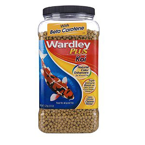 Wardley Premium Koi Fish Food, 2.8-lb jar