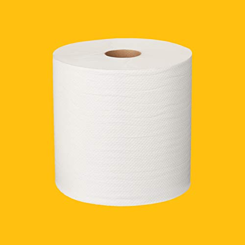 AmazonCommercial Hard Roll Towels, 800' per Roll, 12 rolls $70.99