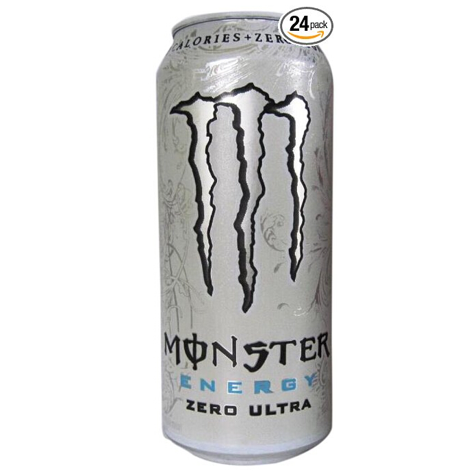Monster Energy Zero Ultra, 16 Ounce (Pack of 24) $25.64