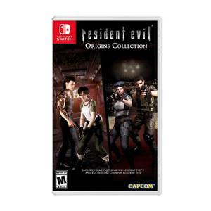 Resident Evil Origins Collection, Capcom, Nintendo Switch