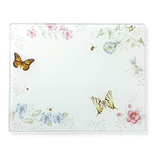 Lenox 888081 Butterfly Meadow Prep Board, Glass, Large