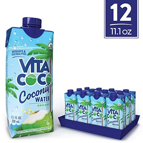 史低价!Vita Coco 百分百有机纯椰汁,11.1盎司/瓶,共12瓶 $13.98 免运费
