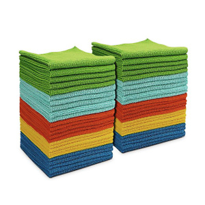 AIDEA Microfiber Cleaning Cloths All-Purpose Softer Highly Absorbent
