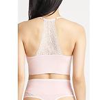 Ultralight Seamless Lace Back Unlined Bralette