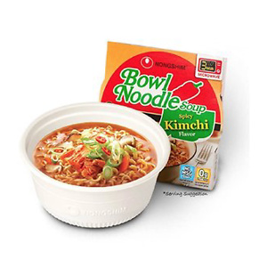 Nongshim Bowl Noodle Soup, Hot & Spicy, 3.03 Ounce (Pack of 12)