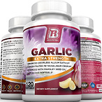 BRI Nutrition Odorless Garlic - 120 Softgels - 1000mg