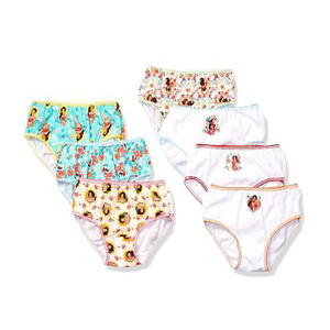Disney Girls' Big Elena of Avalor 7-Pack Panty