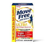 Type II Collagen, Boron & HA Ultra Triple Action Tablets, Move Free (64 Count in a Bottle)