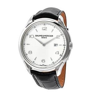 BAUME ET MERCIER Clifton Date Silver Dial 45 mm Men's Watch
