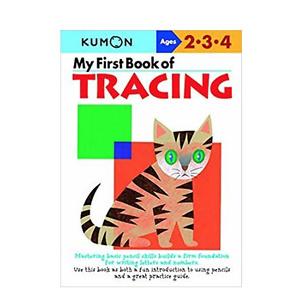 My First Book Of Tracing (Kumon Workbooks)