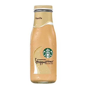 Starbucks Frappuccino, Vanilla, Glass Bottles