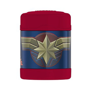 Thermos Funtainer 10 Ounce Food Jar, Captain Marvel