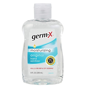 Germ-x Hand Sanitizer, 8 Fl Ounce (Pack Of 12)