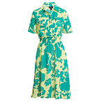 HALOGEN x Atlantic-Pacific Floral Smocked Utility Dress