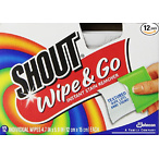 Shout Wipe and Go Instant Stain Remover