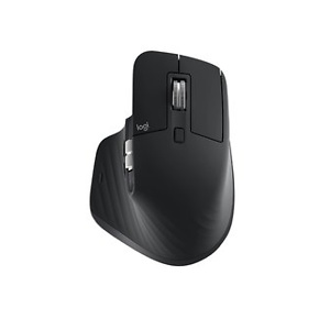 Logitech MX Master 3 Advanced 910-005647 Wireless Laser Mouse, Black