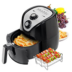Secura Air Fryer 3.4Qt / 3.2L 1500-Watt Electric Hot XL Air Fryers Oven