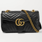 GUCCI GG Marmont s mall quilted leather shoulder bag