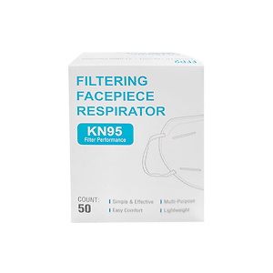 KN95 Face Mask 50 Pack (5 bags of 10) Breathing Respiratory protection FDA and CE Certified