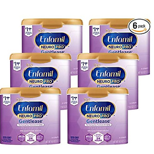 Enfamil NeuroPro Gentlease Baby Formula Gentle Milk Powder Reusable Tub, 20 oz