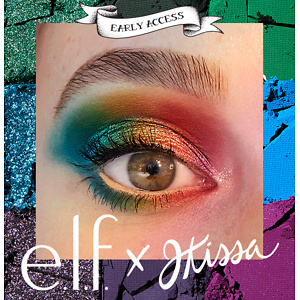 E.L.F. X JKISSA TO THE RESCUE EYESHADOW PALETTE