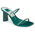 DOLCE VITA Naylin Crystal Embellished Slide Sandal