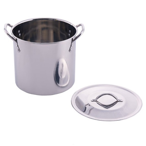 Mainstays Stainless Steel 8 Quart Stock Pot with Lid
