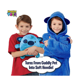 Ontel Huggle Pets Blue Puppy Animal Hoodie