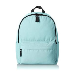 AmazonBasics Classic Backpack, Aqua - 4-Pack