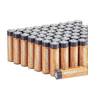 AmazonBasics 48-Count AA High-Performance Alkaline Batteries