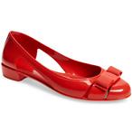 SALVATORE FERRAGAMO Jelly 芭蕾平底鞋
