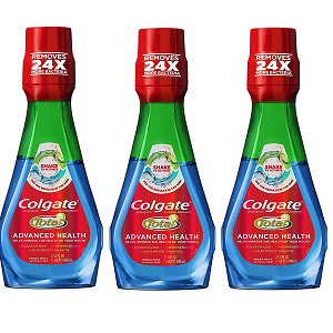 Colgate Total Advanced Health 漱口水 800毫升 3瓶