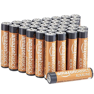 AmazonBasics 36-Count AAA High-Performance Alkaline Batteries