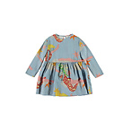 Stella McCartney Kid Lucy in the Sky Long Sleeve Dress (Little Girl & Big Girl)