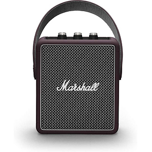Marshall Stockwell II Portable Speaker - Burgundy by Marshall