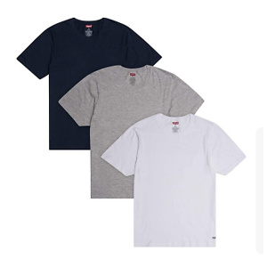 Levi's Men's Undershirts 3 Pack