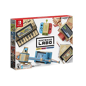 Nintendo Labo Variety Kit 纸板游戏套装