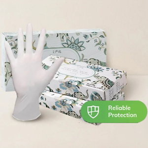 Disposable Latex General Gloves 100 PCs
