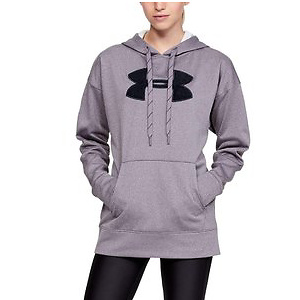 Under Armour mens Armour Fleece Chenille Logo Pullover Hoodie
