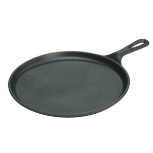 Lodge Pre-Seasoned 10.5 Inch Cast Iron Griddle