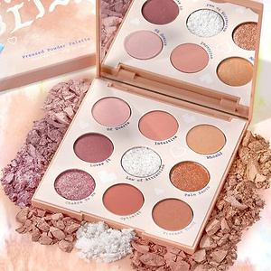 ColourPop Miss Bliss Shadow Palette Just Arrived