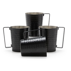 MoDRN Industrial Hammered Moscow Mule 4 Piece Set