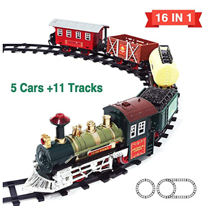 Kimiangel New Eddition 16 in 1 Train Sets