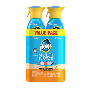 Pledge Antibacterial Multisurface Cleaner, Fresh Citrus